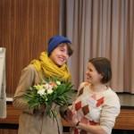 Dankeschön an Regisseurin Johanna Ickert (links) für den PiA-Protest-Spot